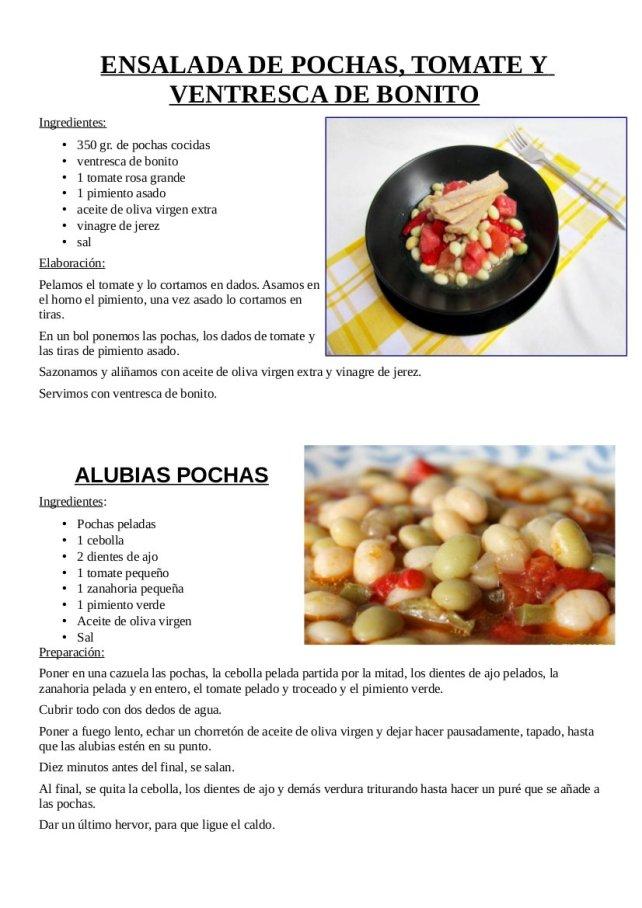 3 Recetas de alubia pocha1