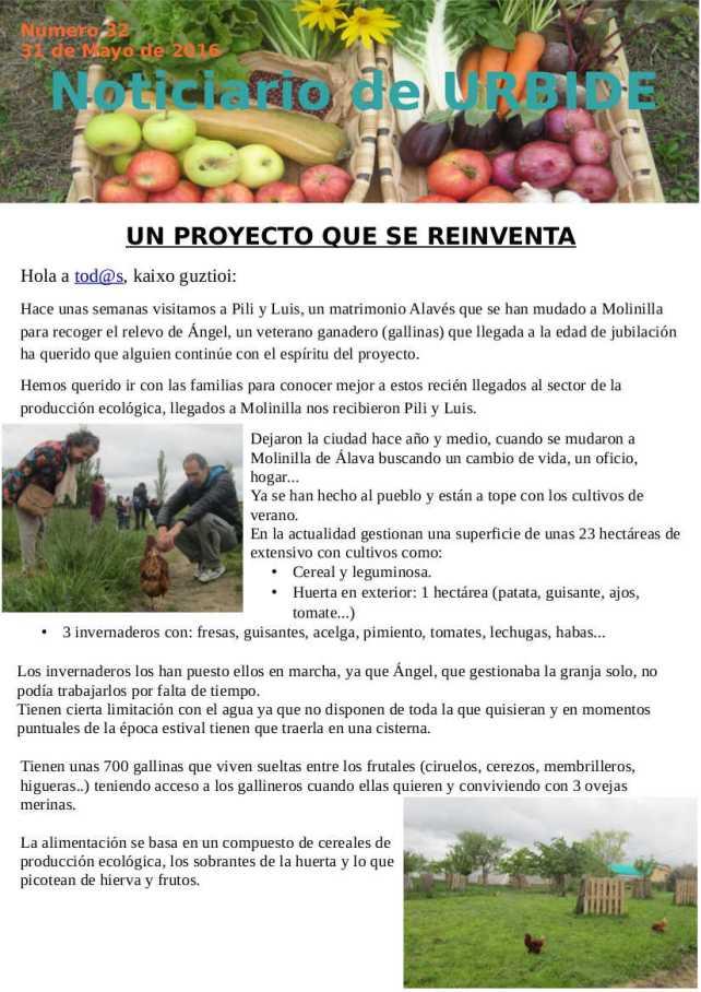 Noticiario Mayo 16