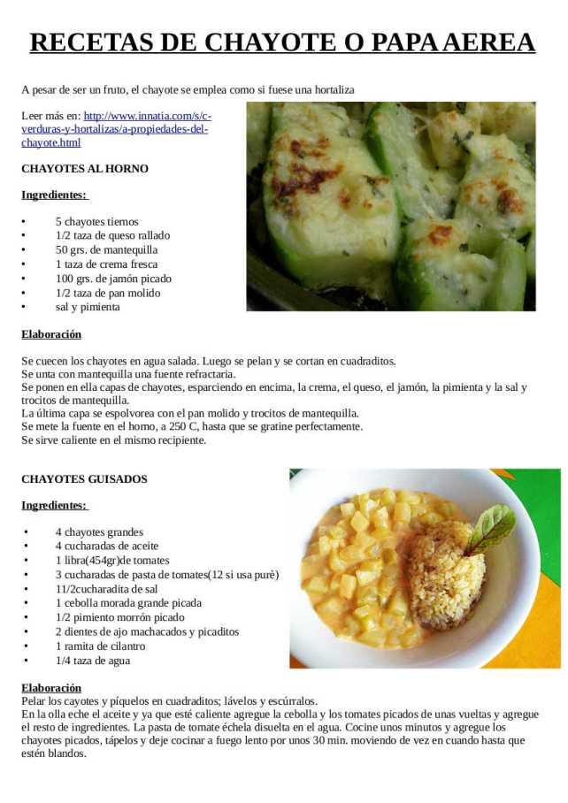 recetas-de-chayote-o-papa-aerea