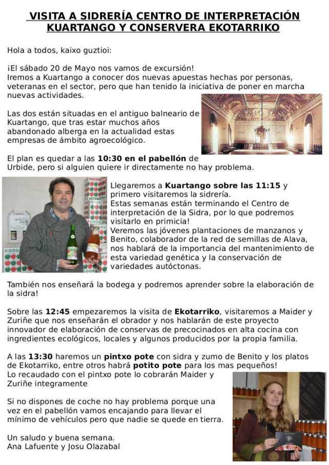 VISITA 20 DE MAYO A KUARTANGO